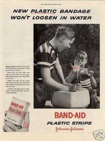 Johnson & Johnson Band-aid (1953) | Vintage Health | Vintage