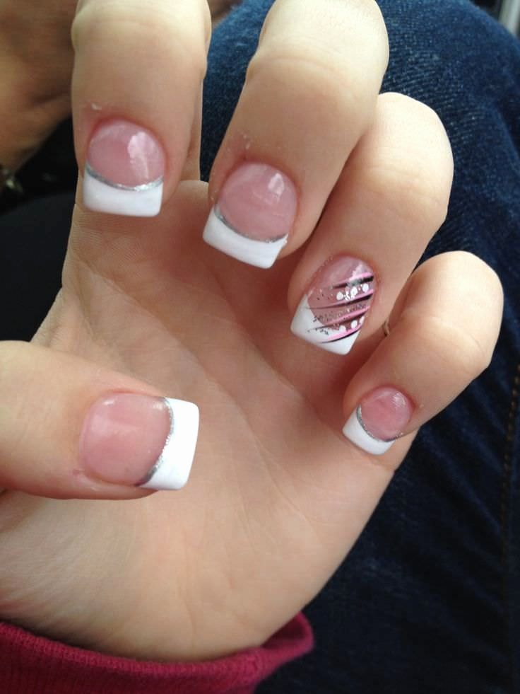 French Manicure Nail Designs Fresh 22 French Tip Nail Art