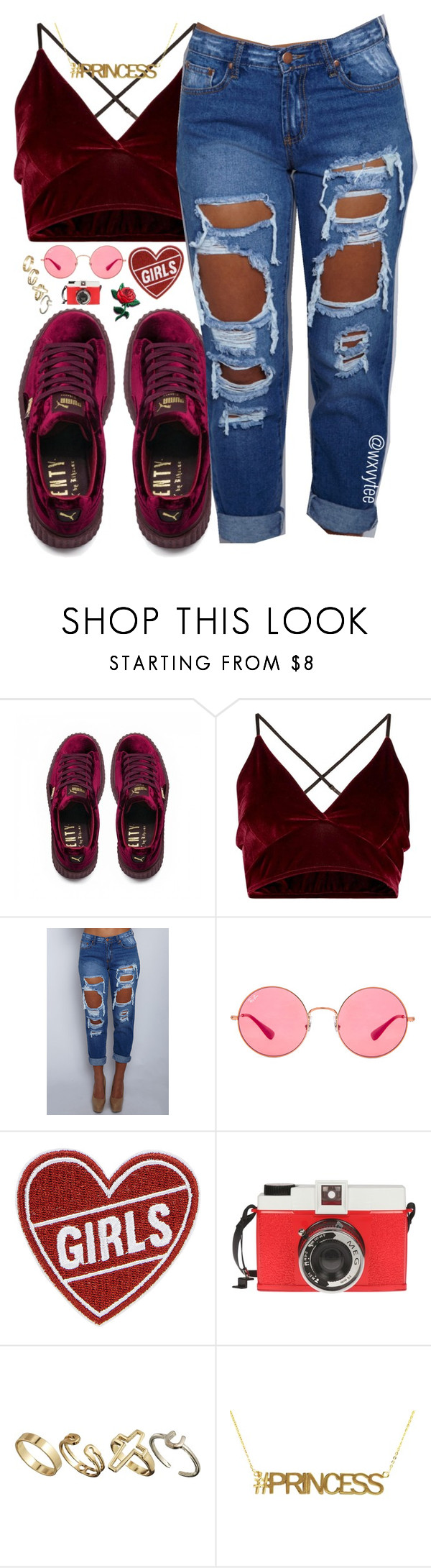 """"" by wxvytee ❤ liked on Polyvore featuring Puma, Ray-Ban, Edition and Pull&Bear"
