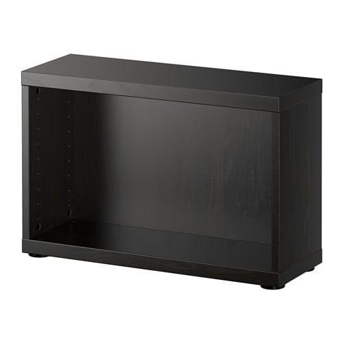 Bestå Structure Brun Noir Ikea Rangement Interieur Et