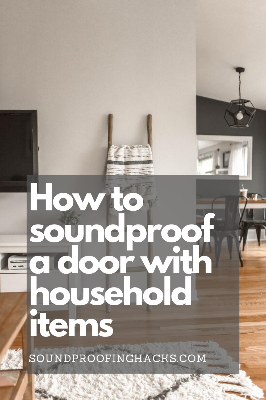 Pin on Soundproofing doors DIY