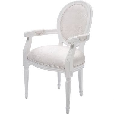 Lavish Louis White Chair Vintage Bedroom Chair White Bedroom Chair