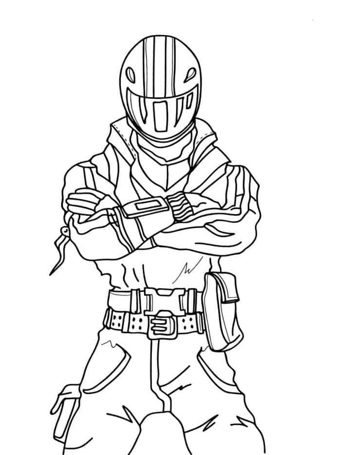 fortnite coloring pages raptor   Coloring pages for kids ...