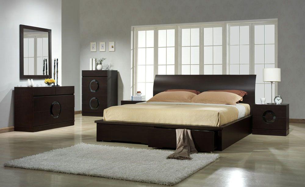 How To Create A Clean Calm Modern King Bedroom Sets White Modern King Bedroom Sets Ideas Contemporary Bedroom Furniture Modern Bedroom Furniture Zen Bedroom