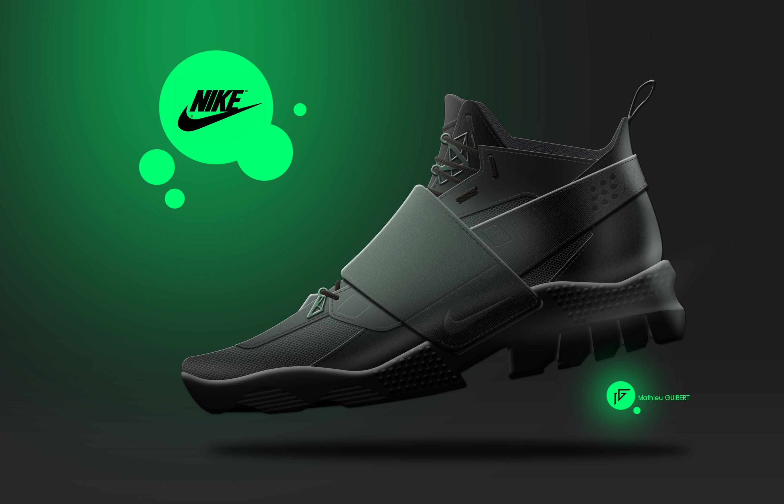 MATHIEU GUIBERT // NIKE SHOES CONCEPT // shoes - sketch - shoedesign -  footweardesign