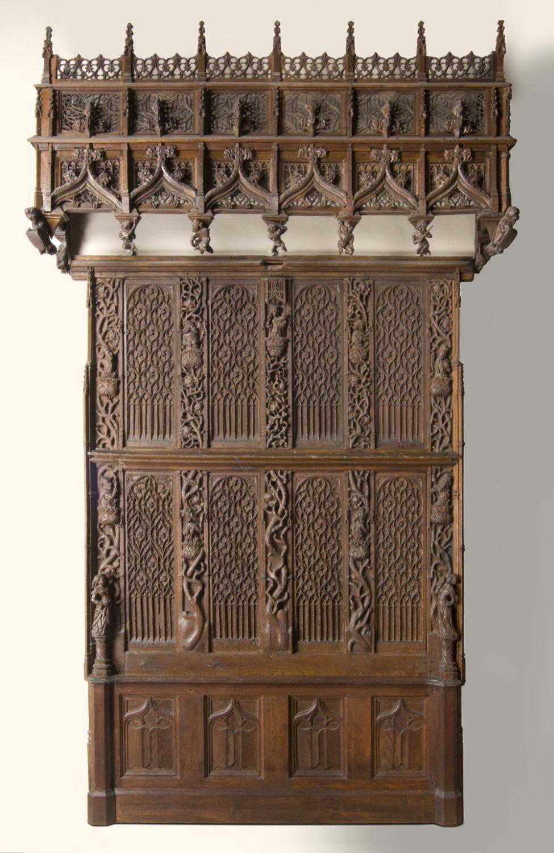 gothic carved m bel sp tmittelalter realien pinterest m bel und mittelalter. Black Bedroom Furniture Sets. Home Design Ideas