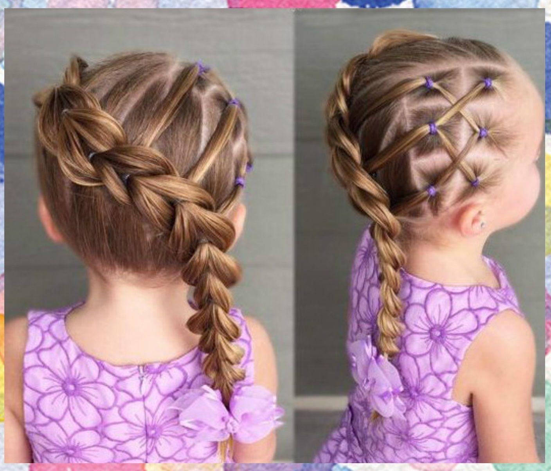 Peinados Faciles Para Ninas Imagenes De Peinados Para Nina Faciles Peinados Lindos Y Kids Hairstyles Girl Hairstyles Hair Styles