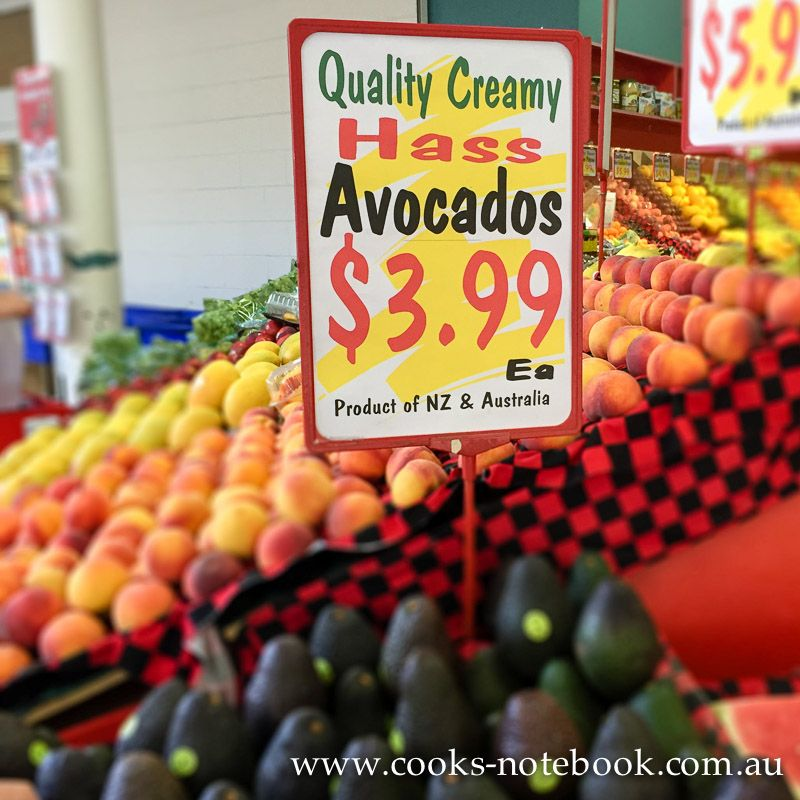 Avocado beyond the price of purchase cooksnotebook