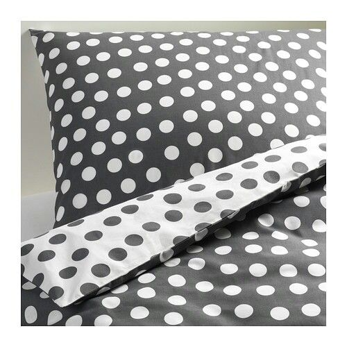 Gray polka-dot