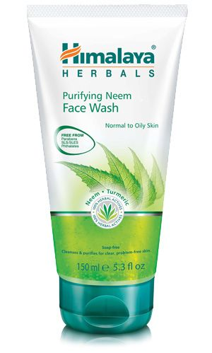 Himalaya Herbals Purifying Neem Face Wash Gel Face Wash Combination Skin Care Face Wash Cleanser