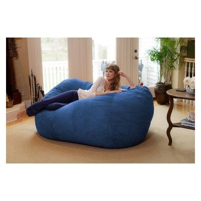 Brilliant 6Ft Microsuede Lounger Royal Blue Relax Sacks In 2019 Andrewgaddart Wooden Chair Designs For Living Room Andrewgaddartcom