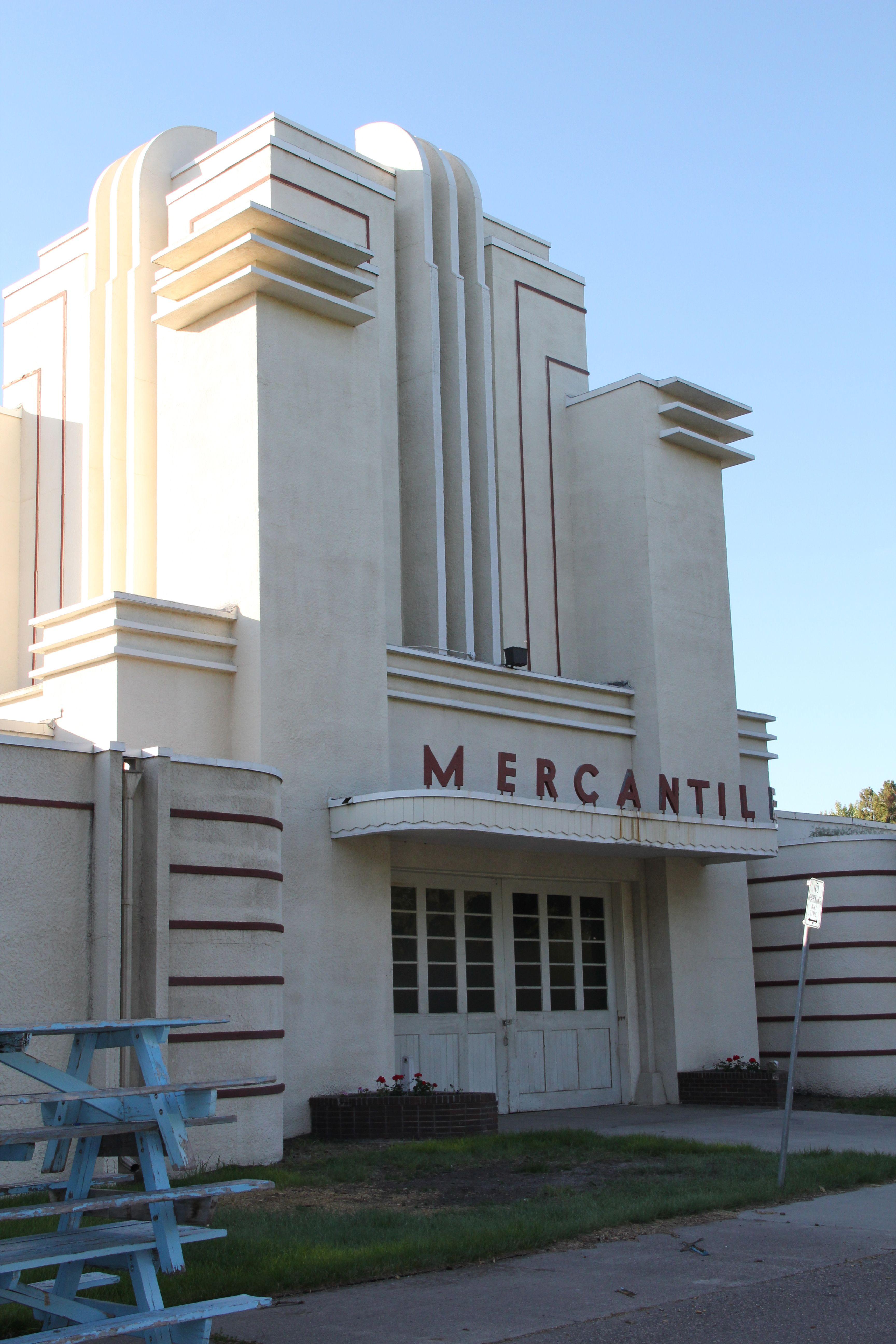 Art Deco Architecture In Montana Art Deco In 2019