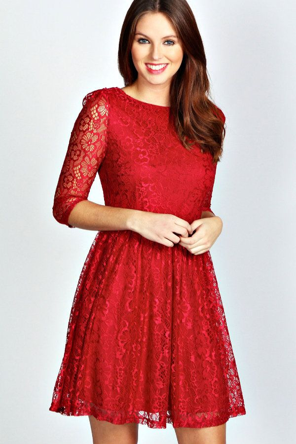 21 elegant christmas party dresses 2015 for women fashion craze - Cheap Christmas Dresses
