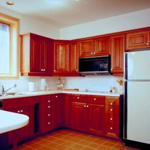 How to Make Old Cabinets Look New Without Staining ...