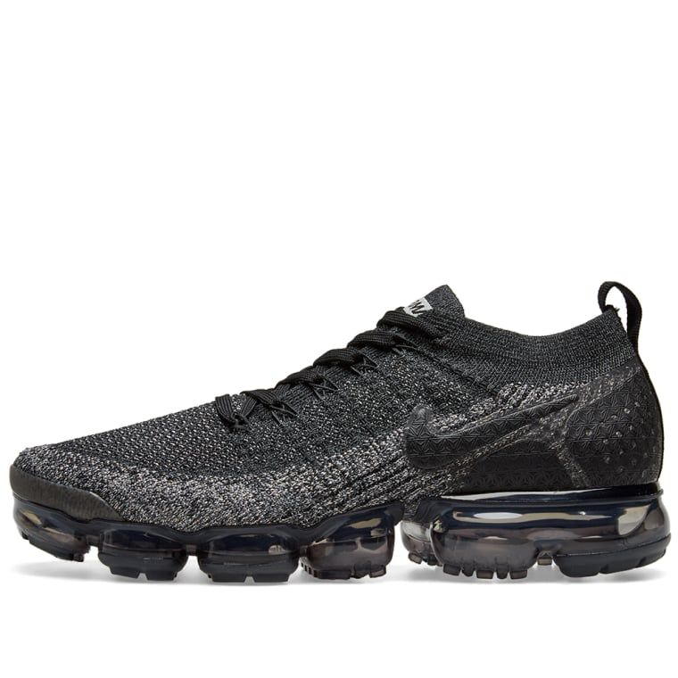 fb9ed3648ecc7 Nike Air VaporMax Flyknit 2 Black   Dark Grey 2