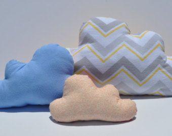 Cloud Pillow, Sewing Pattern, Kawaii pillow pattern, baby sewing pattern, DIY cloud decorations, easy sewing pattern, cloud nursery decor