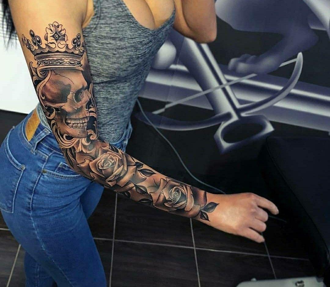Pin By Princess Montalvo On Tatt O Best Sleeve Tattoos Girls With Sleeve Tattoos Sleeve Tattoos For Women