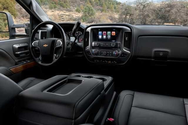 2017 Chevy Silverado 2500hd Interior