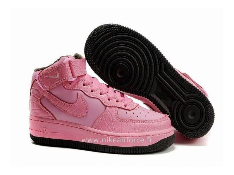 énorme réduction 201c7 91a8b Nike Air Force 1 Mid '07 Rose Chaussure pour Femme Air Force ...