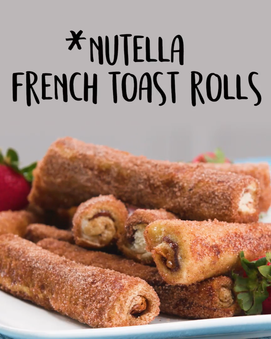 Nutella French Toast Rolls