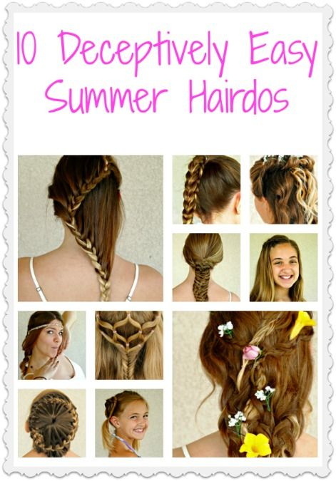 Cute hairstyles for school images : 8 Super Cute Hairstyles Any Parent Can Do Themselves More Face ideas