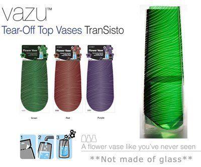Flower Vase Transisto Green Vazu Vases By Vazu Vases 400 Home