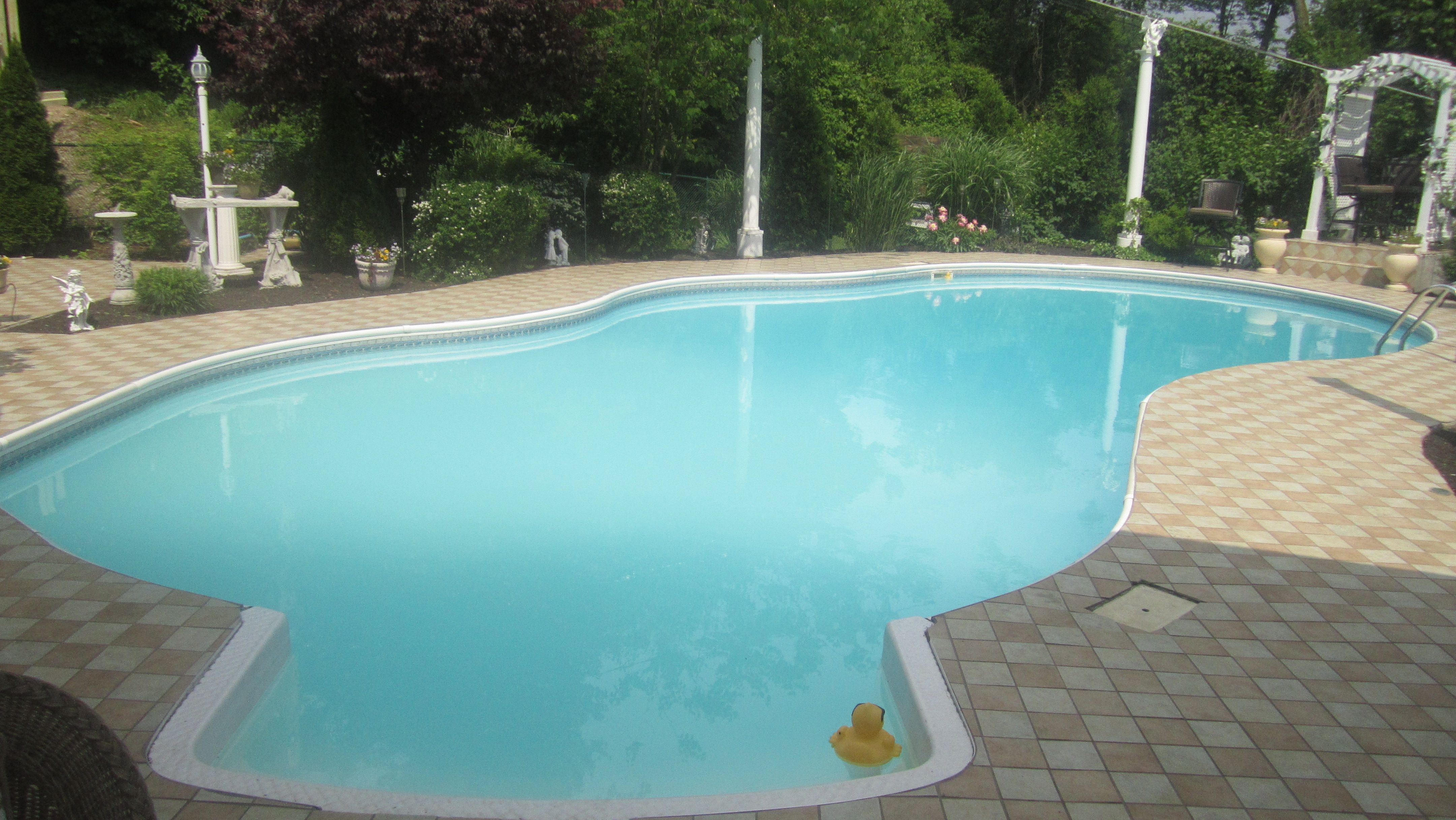 My pool in PIttsburgh in the summer!