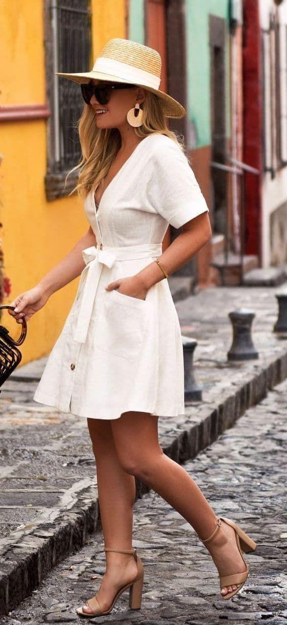 45 Süße Sommer-Outfits, die Sie besitzen sollten. 1 #Sommer #Outfits #chicsummeroutfits