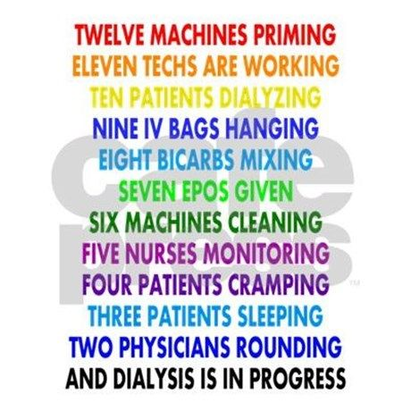 Dialysis  Days Of ChristmasPng Mousepad By Nurseii  Nkf