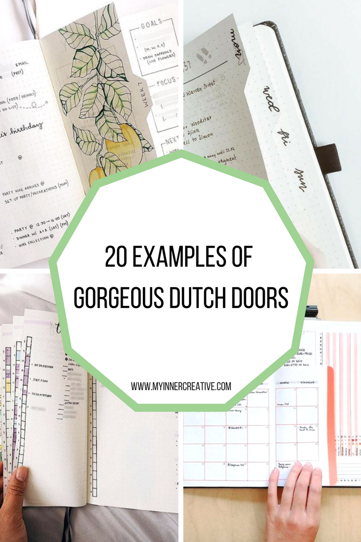 Keeping your privates private - The Dutch Door Dilemma | My Inner Creative #planwithme #bulletjournalcollection #bujobeauty #goalsetting #makingithappen #todolist #discoverbulletjournal #productivity #penandpaper #stationeryaddict#planneraddict #bujosetup #bujoideas #bujogram