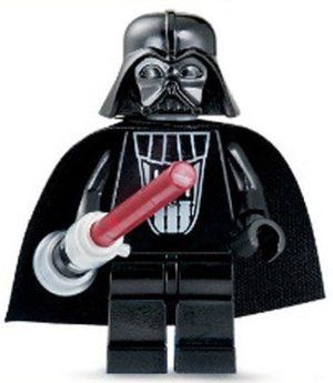 LEGO Star Wars Darth Vader with Red Lightsaber Minifigs Figurines Assemble