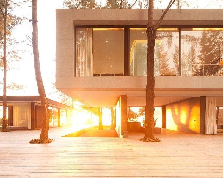 Villa Amina by Pascal De Souza | Maison cubique, Maison ...