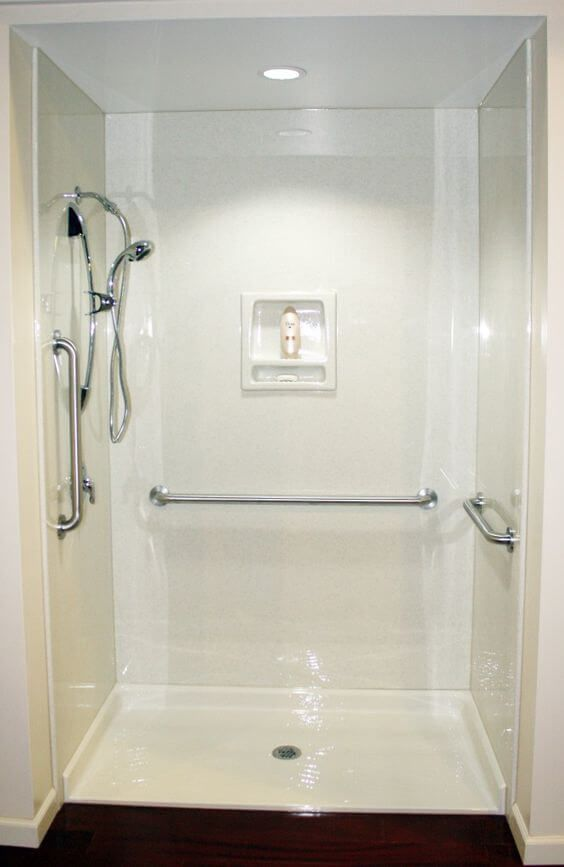 Bathroom Designs For Elderly And Handicapped Beauteous Safe Design Solutions For Senior Friendly Bathrooms  Handicap Design Ideas