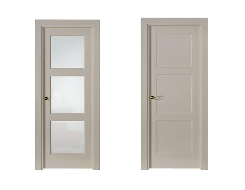 Puerta lacada blanca precio frentes de armario en madrid - Puertas de interior blancas precios ...