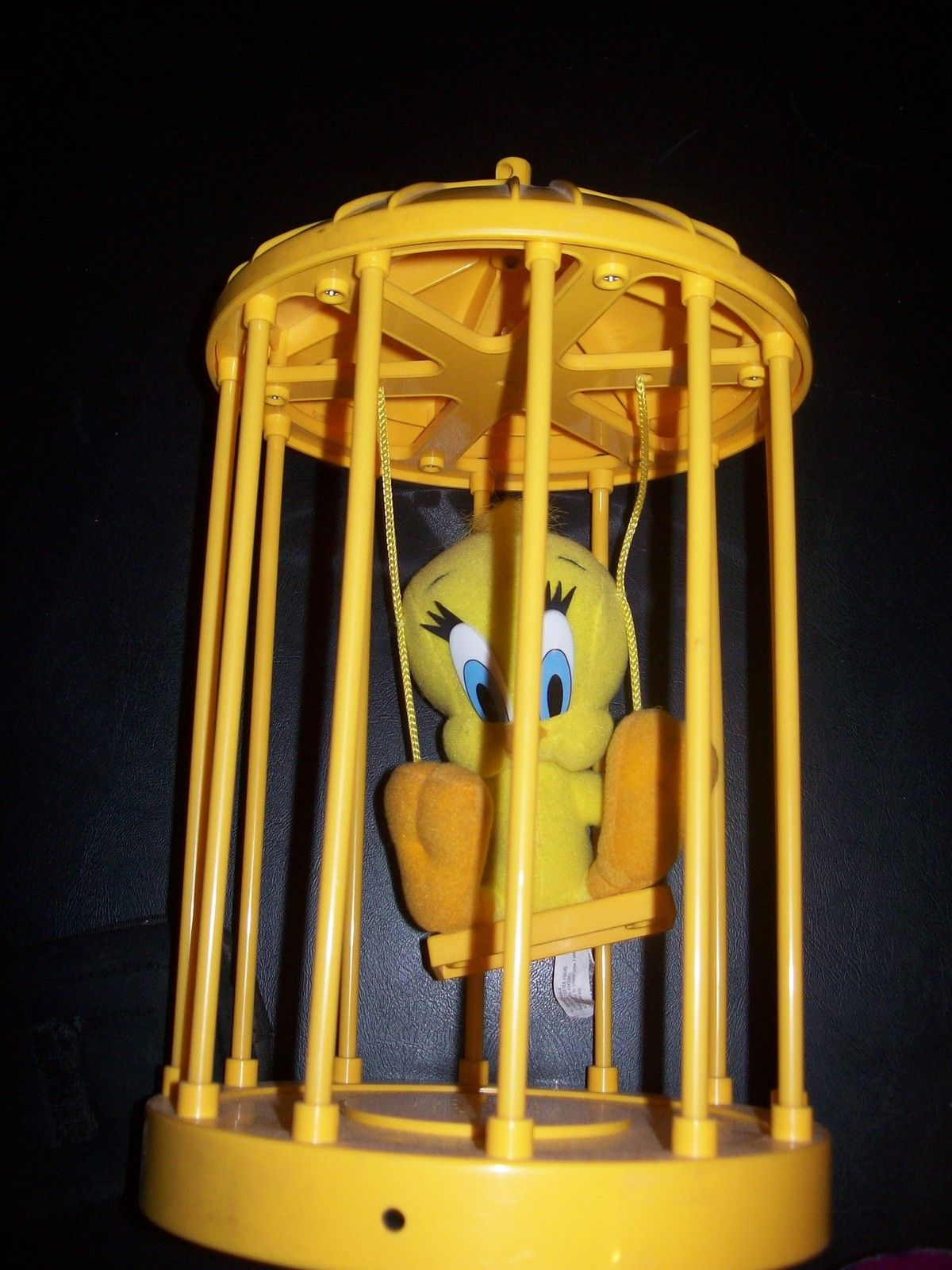 Talking Tweety Bird In Cage By Warner Brothers