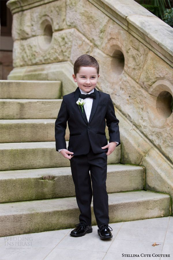 Stellina Cute Couture 2017 2016 Children Occion Wear Page Boy Tuxedo For Boys Toddler Formal Suits