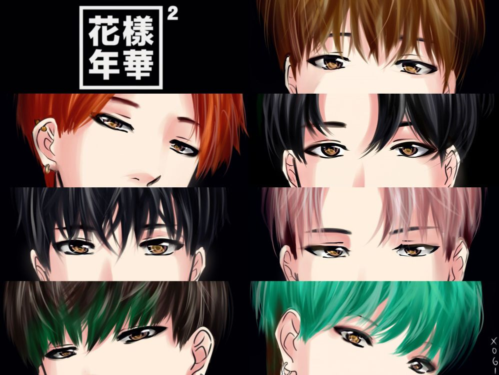 Image result for anime bts BTS Pinterest BTS, Anime