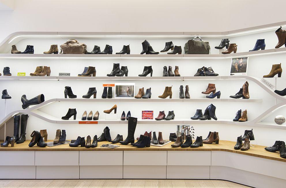 Guzzi l'agencement du de Voici magasin chaussures de Nantes ZOkuTPXi