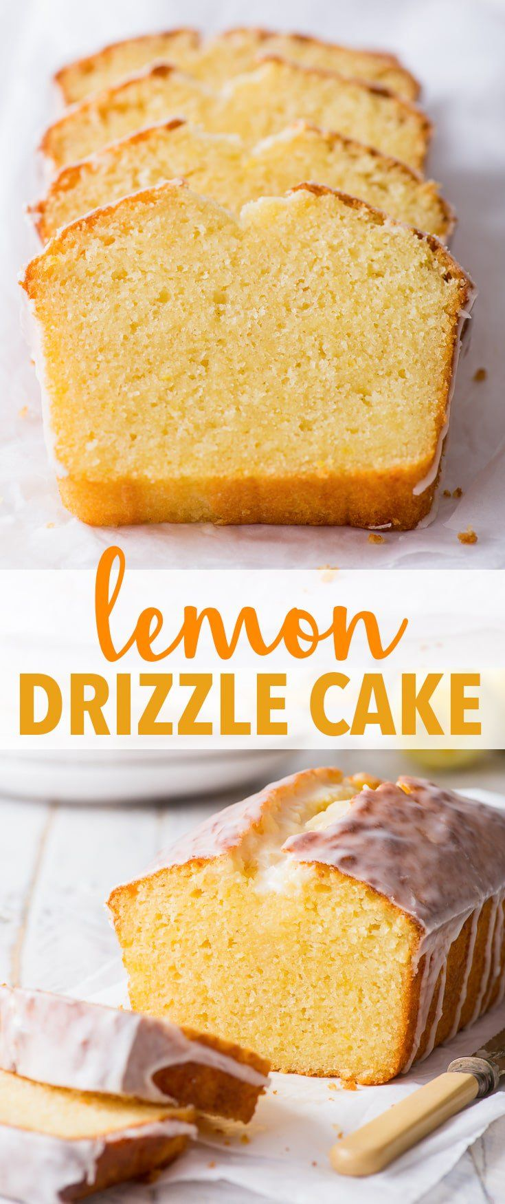 The Best Gluten Free Lemon Drizzle Cake - The Loopy Whisk