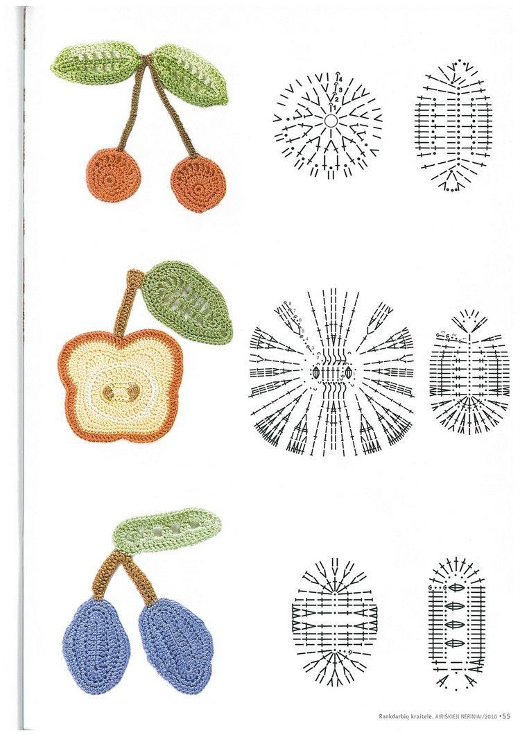 Patrones de Crochet | Örgü aksesuar | Pinterest | Croché, Ganchillo ...