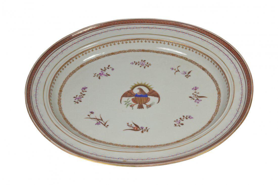 Platter, Samson, American Eagle, 19th Century : Lot 482