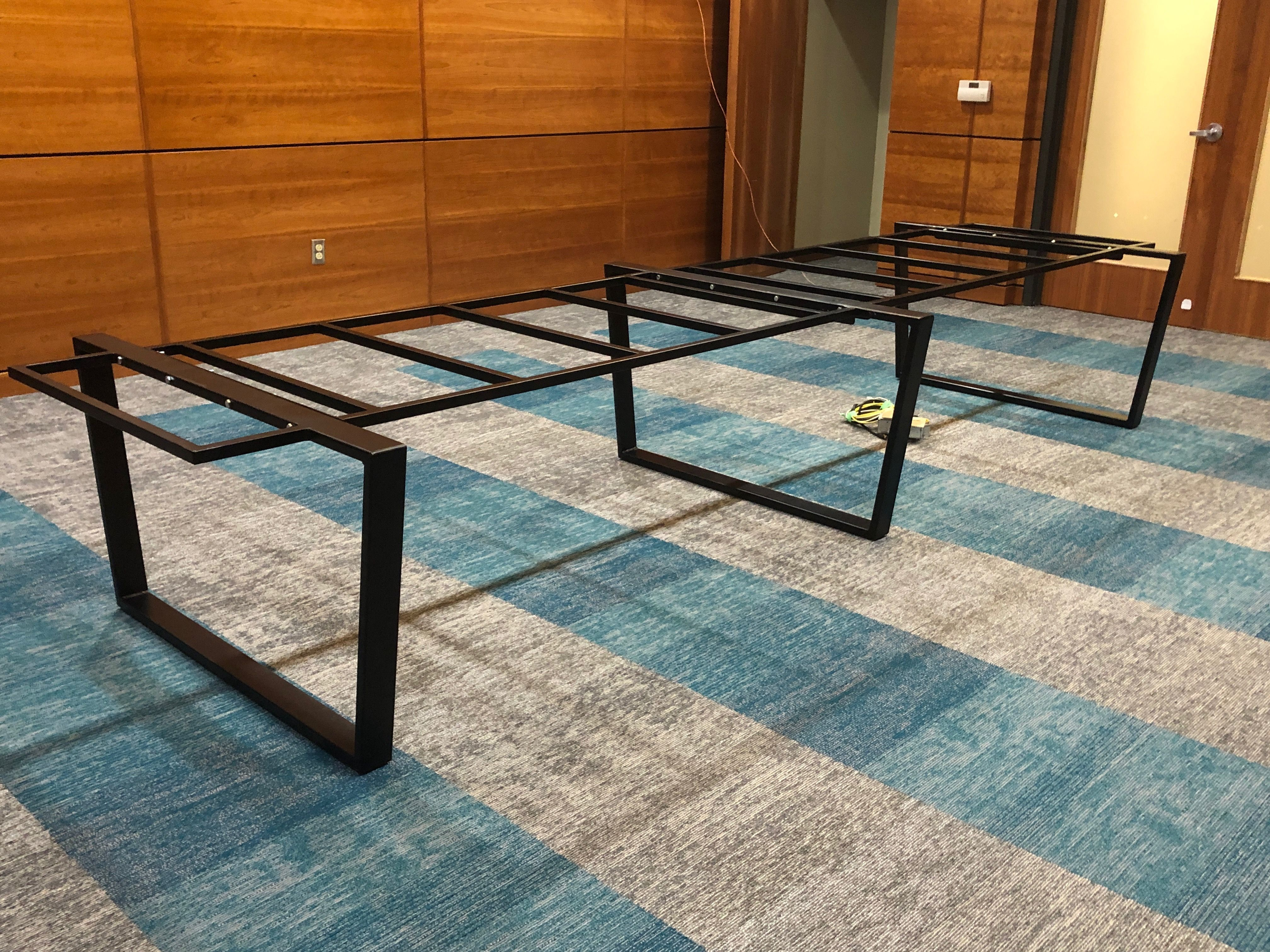 Modular Table Base For Long Dining Tables Or Conference Tables