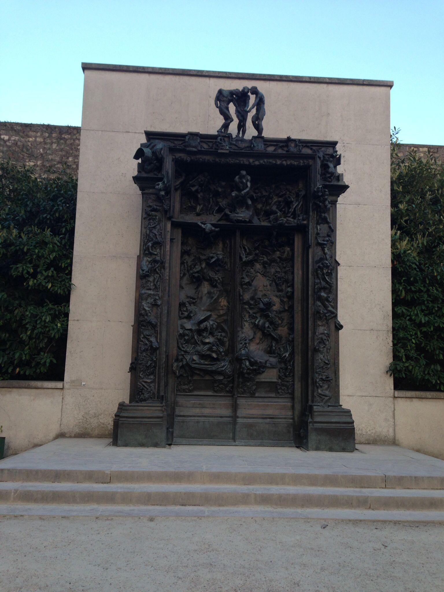 La porte de l'enfer Musee Rodin