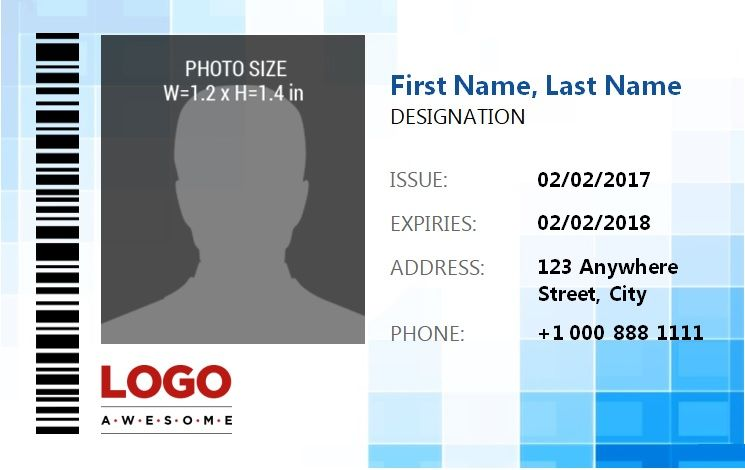 14  free id badge templates