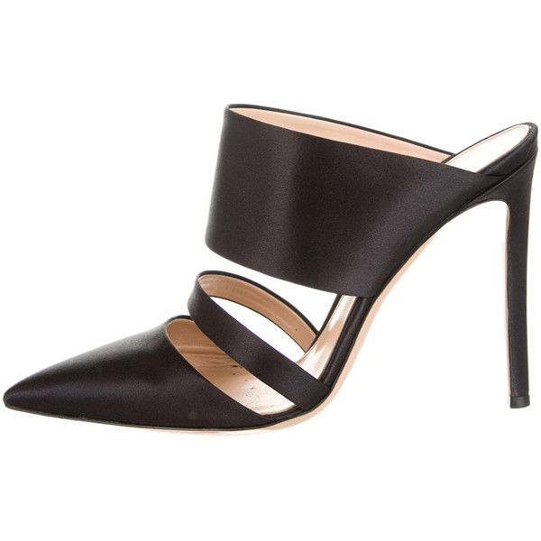 Pre-owned - Leather mules Gianvito Rossi 0nROt