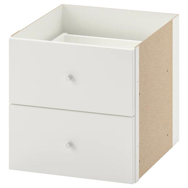 Ikea Pax Cassettiera Interna.Kallax Struttura Interna Con 2 Cassetti Bianco 33x33 Cm Idee