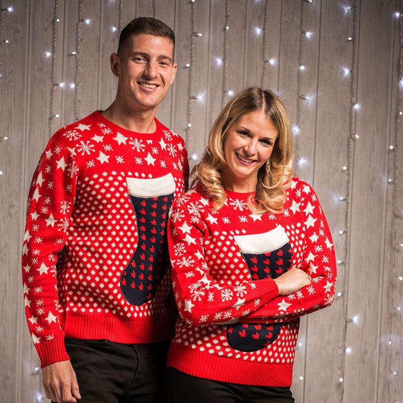 Uniseks Kersttrui.Kersttrui Unisex Kerstsok 3d Dolze Fashion Christmas Jumpers