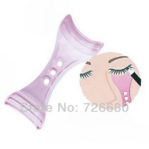 Free Shipping! Eyeliner Guide Template Assistant Tool Make up Tool Mascara eyelash Guide Applicator Card Tool 131-0020 $1.99