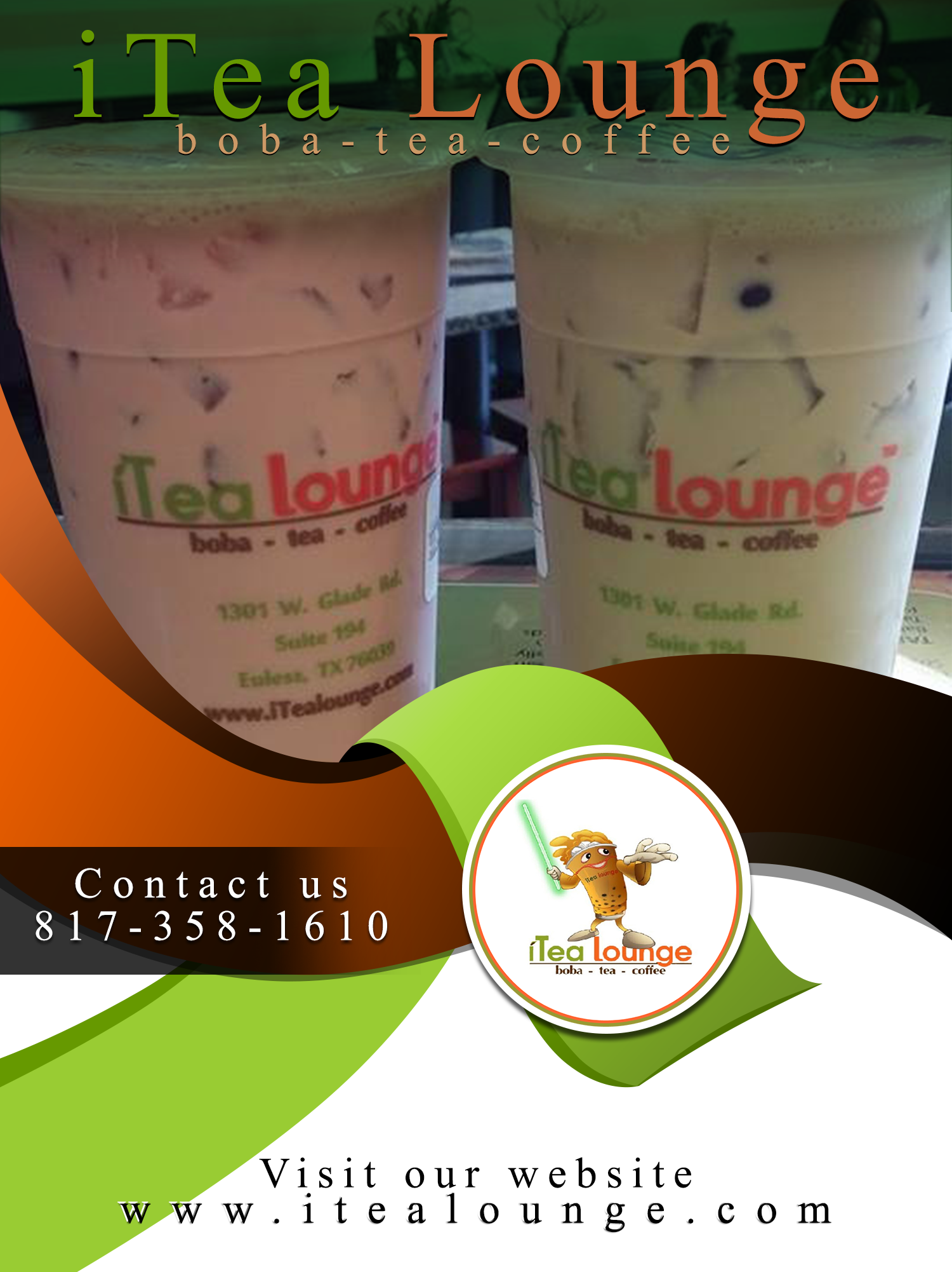 Services Offered Tea Shop in Euless, TX, Boba Tea