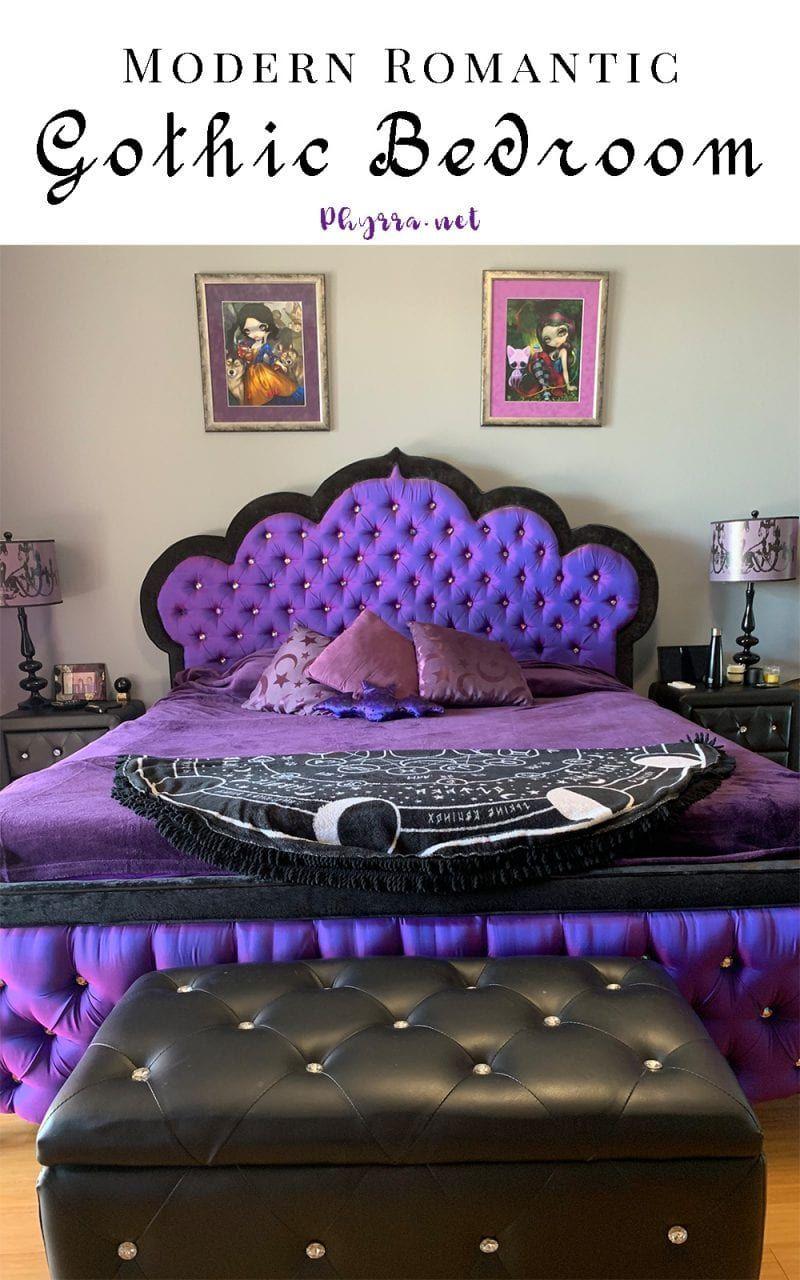 Modern Romantic Gothic Bedroom Modernbedroompurple Gothic Decor Bedroom Gothic Bedroom Furniture Gothic Bedroom